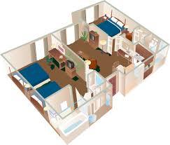Aulani 1 Bedroom Villa Floor Plan by 2 Bedroom Suite Two Bedroom Suitehomewood Suites By Hilton One