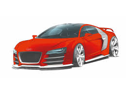 ferrari front drawing 2008 audi r8 tdi le mans drawing front and side 1920x1440