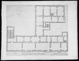 1665 de rossi original antique architectural plan print of