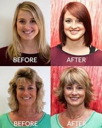 hairstyle makeovers before and after 85 best hairstyle s before and after images on pinterest lounges