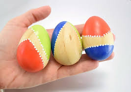 wooden easter eggs that open color blocked wooden easter eggs spark