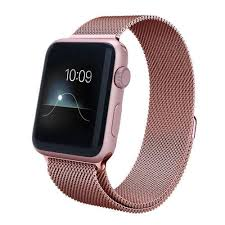 rose stainless steel bracelet images Apple watch band stainless steel mesh rose gold hw co jpg