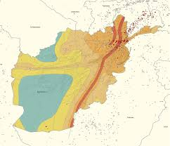 Earthquake Map Usgs Afghanistan Architecture Research A Research On Locally