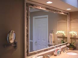 diy bathroom mirror ideas framed bathroom mirror diy image of frame ideas style