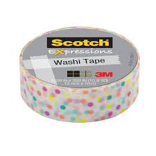 shop scotch washi tape 0 59 in x 32 75 ft duct tape at lowes com