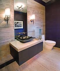 powder room vanity and sink beige tiles flooring idea powder room