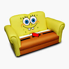 Flip Open Sofa For Kids by Spongebob Flip Open Sofa Leather Sectional Sofa