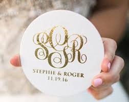 wedding coasters favors wedding coasters etsy