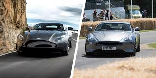 old aston martin db9 aston martin db11 vs db9 gt comparison carwow