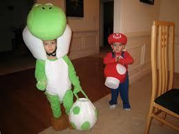 Toadette Halloween Costume Yoshi Mascot Baby Mario Costumes Toddlers Mario Costume
