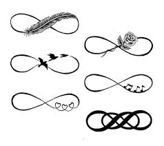 name infinity tattoos for women couples matching eternal tattoo