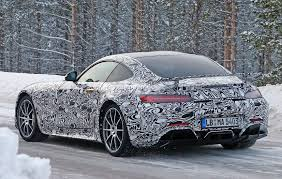 2017 mercedes amg gt r shares more skin during winter testing