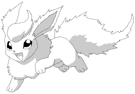 flareon coloring pages 100 images coloring goldeen mew free