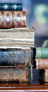 books wallpaper old books in a library hd wallpaper