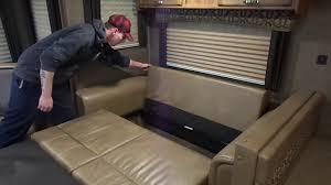 springdale tri fold sleeper sofa youtube