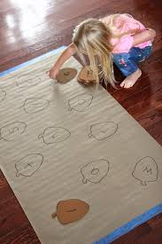 toddler approved acorn alphabet matching game