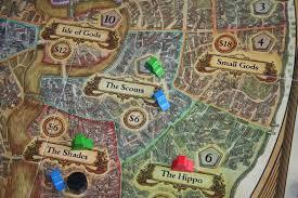 Discworld Map Ankh Morpork Tame The Board Game