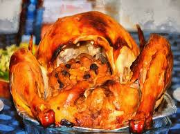 dinde thanksgiving holiday turkey poultry tasty delicious juicy roasted turkey