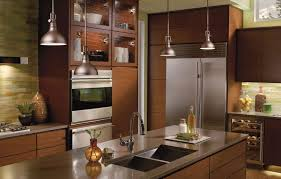 Counter Kitchen Design Appliances Industrial Shape Pendant Ideas Track Lights In