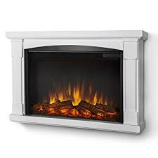 Electric Wall Mounted Fireplace Amazon Com Real Flame Brighton Slim Line Wall Hung Electric