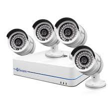 nvr4 7085 video surveillance kit with 4 x security cameras usa