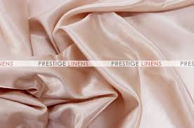 Blush Pink Table Runner Shantung Satin Table Runner 130 Champagne Prestige Linens