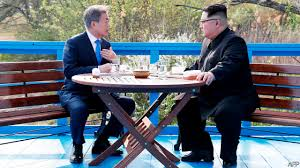 the last kodak moment the economist world news can the euphoria of the korean summit last despot meets democrat