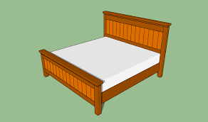 Diy King Platform Bed Plans by King Size Bed Frame Plans Bed Plans Diy U0026 Blueprints