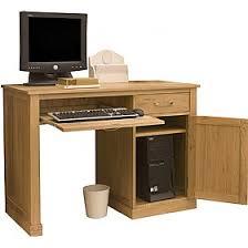 Oak Effect Computer Desk Best Hideaway Computer Workstation Desk For Home Office Student