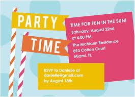 fun loving summertime party invitations u2014 mixbook blog