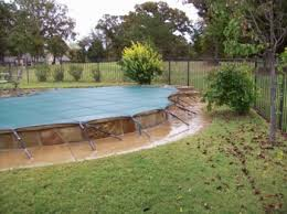 Backyard Pool Safety by Swimming Pool Safety Covers 405 284 6438 Okc Edmond Bethany