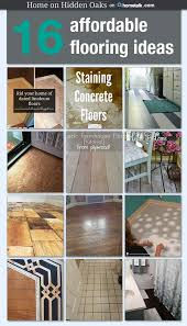 Patio Flooring Ideas Budget Home by Best 25 Cheap Flooring Ideas Diy Ideas On Pinterest Plywood