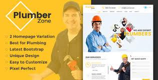 plumber zone plumbing repair u0026 construction html template by
