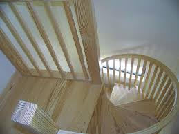 spiral stair photos quality kits from precision pine inc