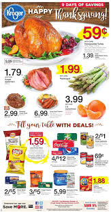 kroger weekly ad nov 16 24 2016 thanksgiving