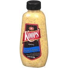 ground mustard koops ground mustard 12 oz walmart