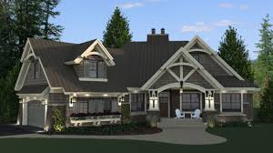 Ranch Style Bungalow Craftsman Style House Plan 3 Beds 3 Baths 2177 Sq Ft Plan 51