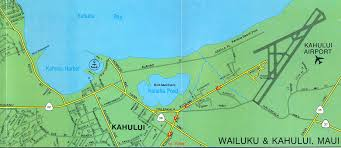 Kahului Airport Map Mark Gordon Conference