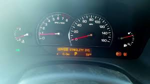 cadillac cts traction 2006 cadillac sts service stability sys assist problem