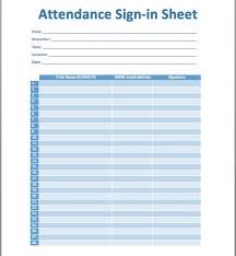 training sign in sheet example sign off template msf requirements
