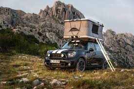 jeep renegade camping safari euro style with the mini countryman all4 camp concept the