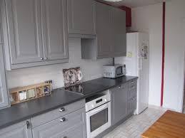 cuisine blanche et grise davaus net u003d cuisine blanche avec carrelage gris avec des idées