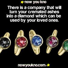 ashes into diamonds there is a company that will turn your cremated ashes into a