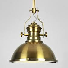 Gold Pendant Lighting Antique Brass Nautical Led Pendant Light With Frosted Diffuser