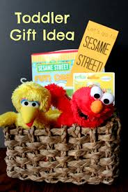 sesame easter basket toddler gift idea sesame themed sesame streets gift and