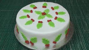 how to make a christmas cake part 4 icing u0026 decorating youtube