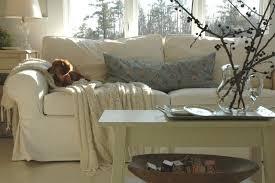Modern Slipcovered Sofa by Crypton Sofa Living Room Traditional With Area Rug Artwork Corner