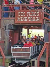 Six Flags Roller Coasters List Runaway Mine Train Six Flags Over Texas