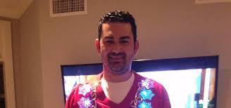 adrian gonzalez wore an amazing ugly christmas sweater but it