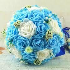 mariage bleu et blanc bouquet mariage blanc et bleu achat vente bouquet mariage